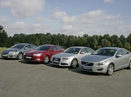 Opel Insignia kontra Citroen C5, Audi A4 i Volvo S60 - który sedan z dieslem jest lepszy?