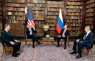 W Genewie rozpoczęły się rozmowy Biden-Putin w poszerzonym składzie