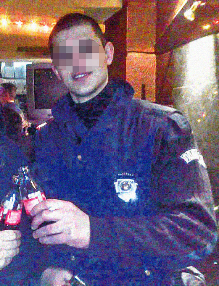 Pavle R, žandarm, Nova Pazova