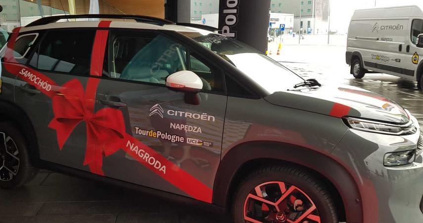 Wkrótce rusza Tour de Pologne. Najlepszy kolarz odjedzie nowym Citroënem