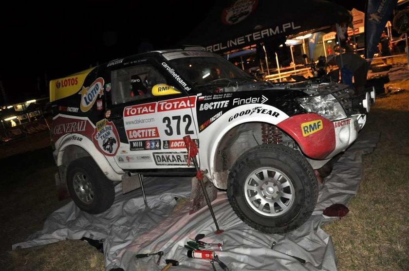 Adam Małysz już wie, jak wygląda ściganie na trasie Rajdu Dakar 2012