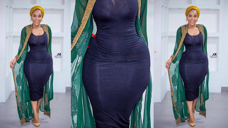 Benedicta Gafah busted with fake hips
