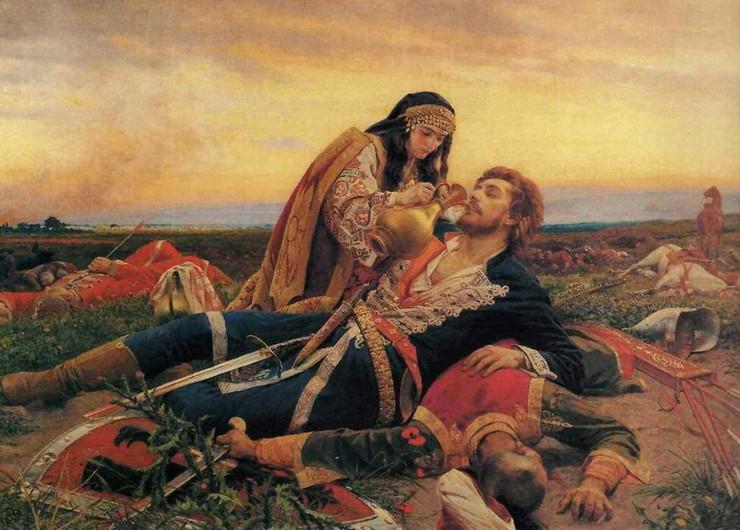 100727_kuvojin-matic--kosovka-devojka-slika-urosa-predica-vl.-muzeja-grada-beograda