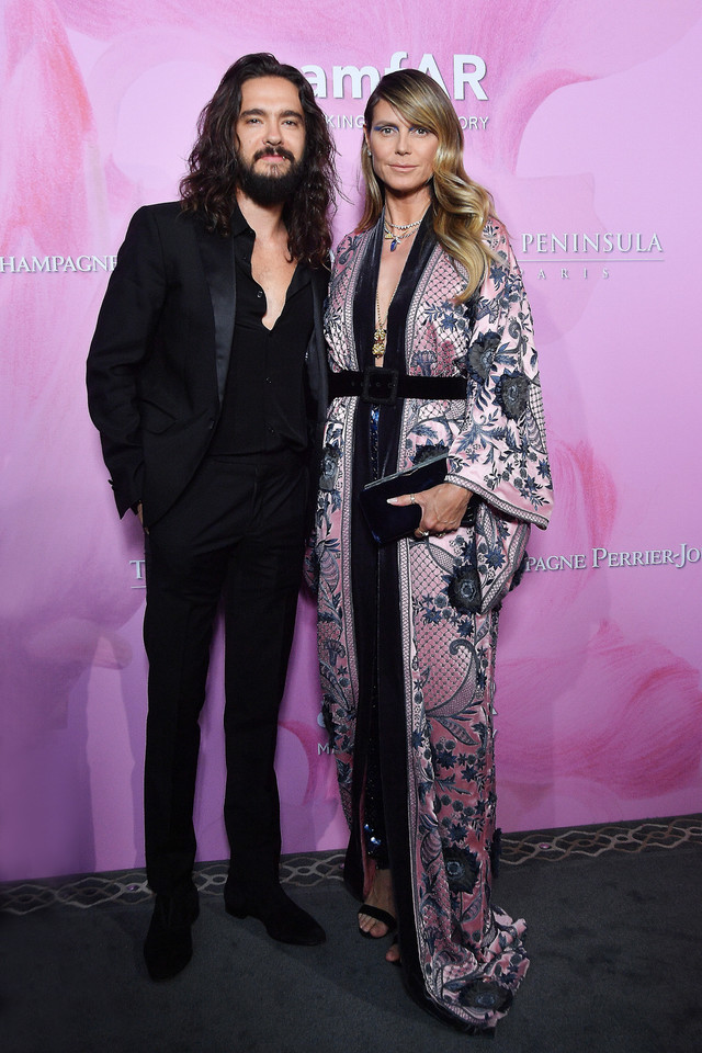 AmfAR 2019 Gala: Tom Kaulitz and Heidi Klum