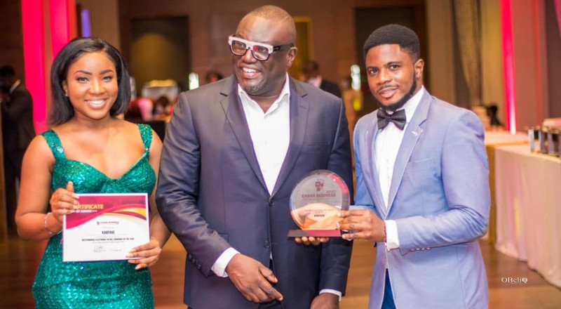Kab-Fam Ghana Ltd emerge as 2020 'Outstanding Electronic Retail Company of the Year' (PHOTOS)