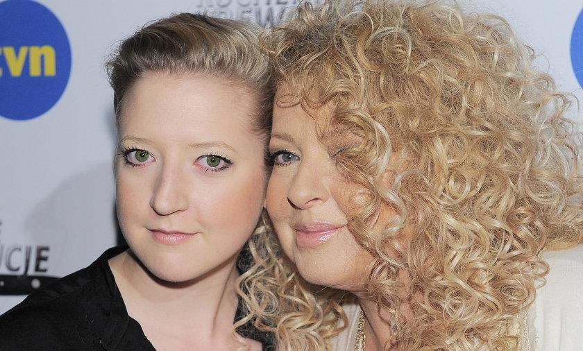 Magda Gessler z córką na salonach