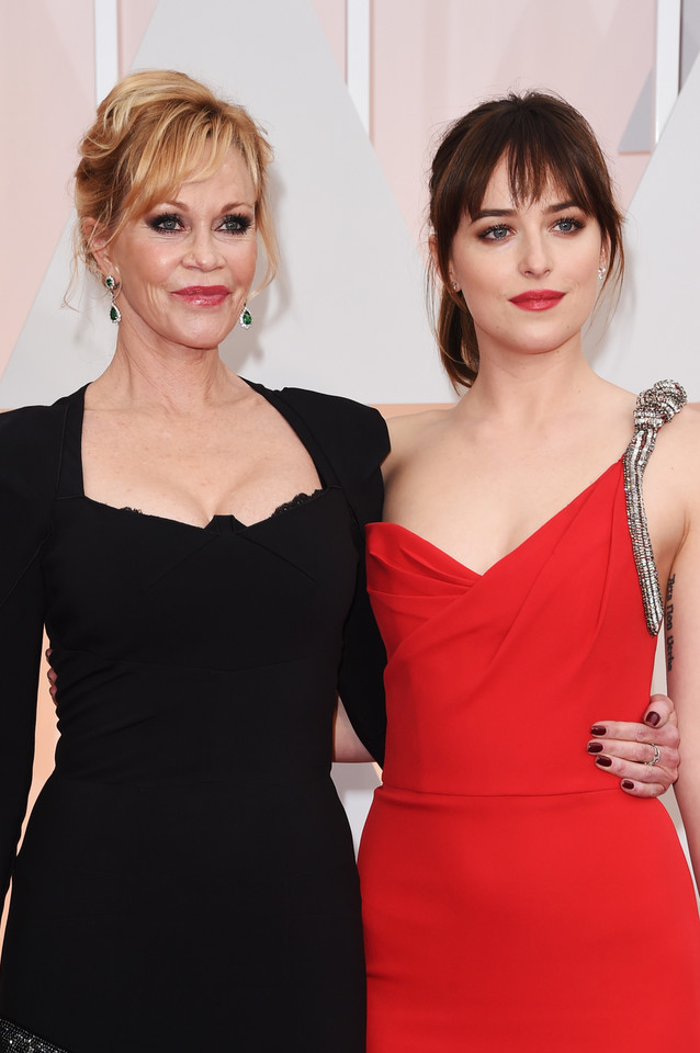 Melanie Griffith i Dakota Johnson