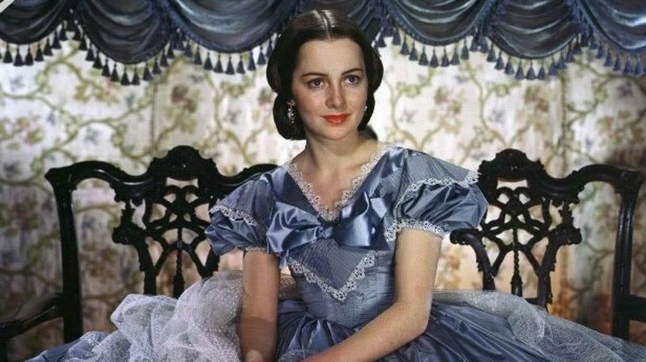"""Olivia de Havilland w filmie """"Przeminęło z wiatrem"""""""