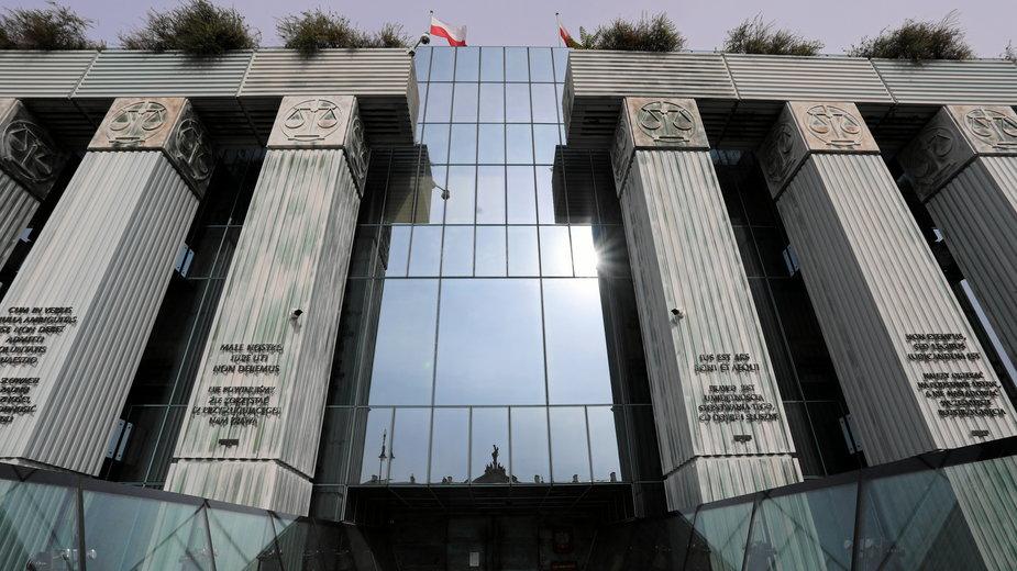 Na zdjęciu budynek Sądu Najwyższego w Warszawie