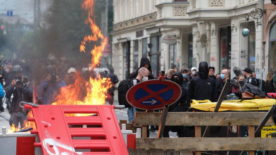 """""""Wszyscy jesteśmy LinX"""" demonstracja w Lipsku"""