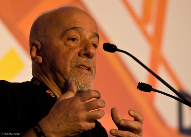 Paulo Coehlo, autor: nrkbeta, licencja: Creative Commons Uznanie autorstwa – Na tych samych warunkach 2.0