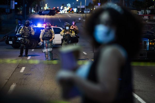 Antirasistički protesti u Los Anđelesu u septembru