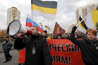 Rosja: Sześć osób zatrzymanych w Moskwie na marszu nacjonalistów