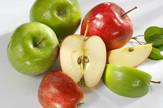 Gala apple Granny Smith