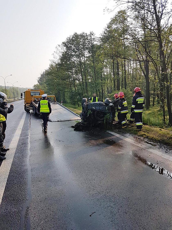 Tragiczny wypadek w Tychach na DK 86