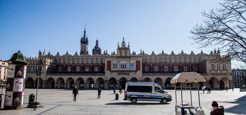 Kraków po roku pandemii. Tak zmieniło się miasto