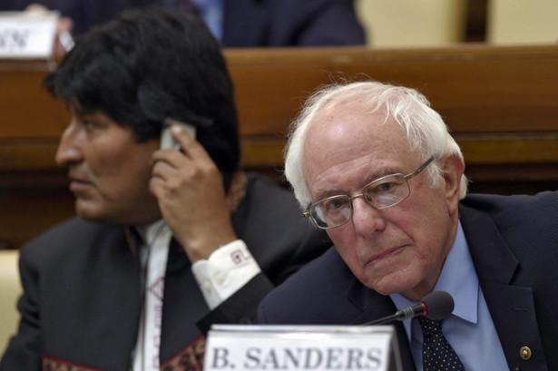 Bernie Sanders spotkał się z papieżem Franciszkiem