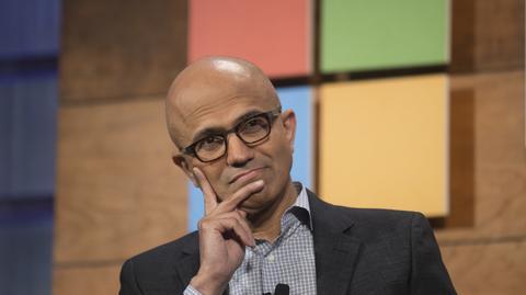 Satya Nadella, od lutego 2014 r. prezes Microsoftu