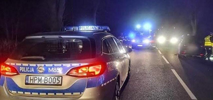 Odblaski mogły uratować mu życie. 35-latek zginął na miejscu