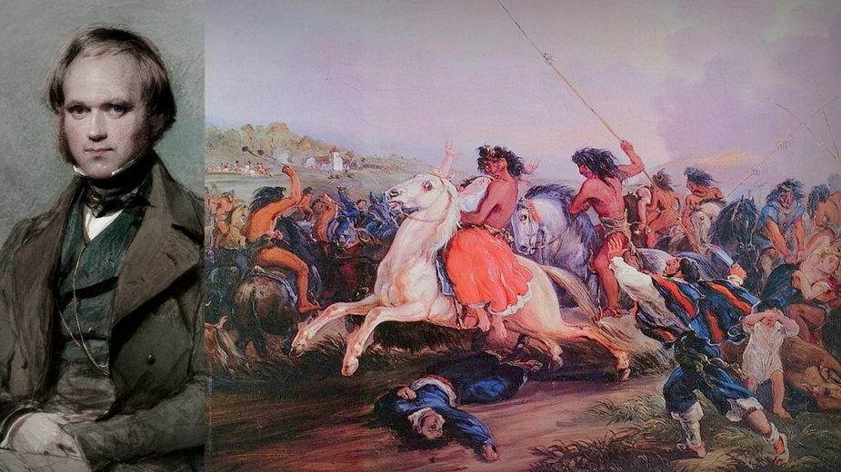 Karol Darwin wspomina brutalną eksterminację Indian w Ameryce Południowej