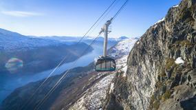 Nowa atrakcja turystyczna norweskich fiordów - Loen Skylift