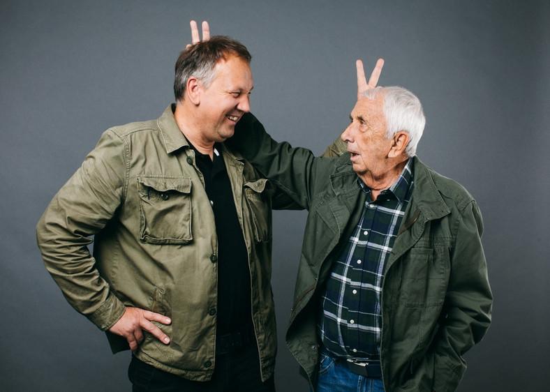 Cezary Łazarewicz i Andrzej Bober