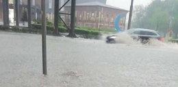 Dąbrowa Górnicza zalana! W innych miejscach nie jest lepiej