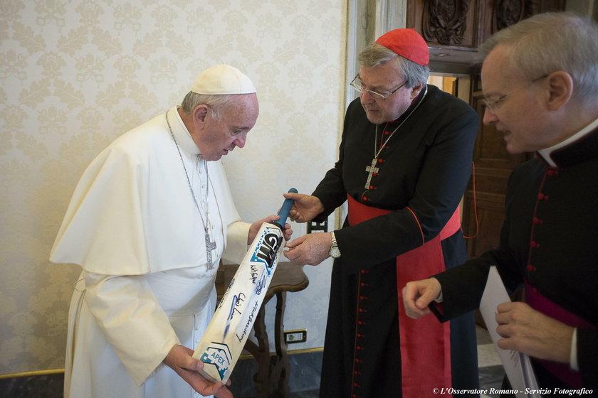 Kardynał George Pell był współpracownikiem papieża Franciszka