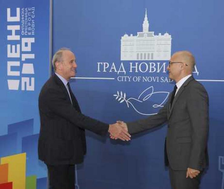 Ambasador Francuske posetio Novi Sad