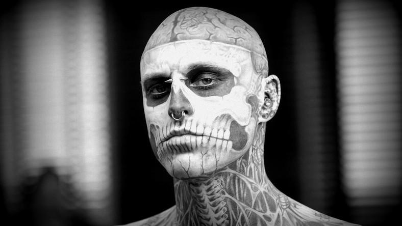 Zombie Boy Nie żyje Znany Z Teledysku Lady Gagi Model