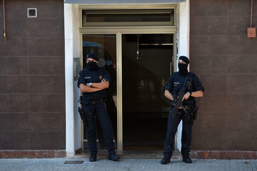 Atak nożownika w Barcelonie