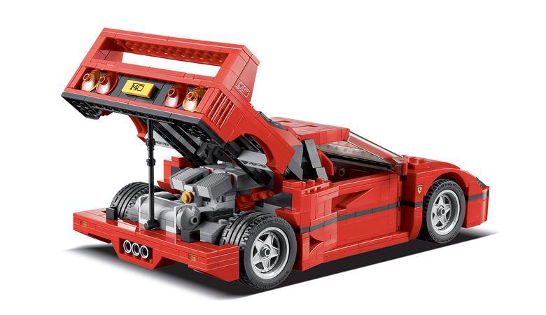 Top 9 aut z klocków Lego