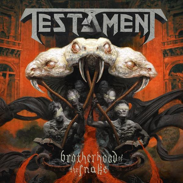 "TESTAMENT – ""Brotherhood Of The Snake"""