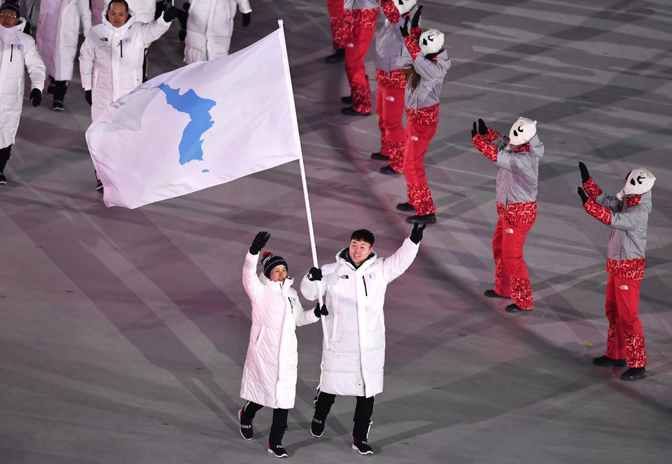 epa06508340 - SOUTH KOREA PYEONGCHANG 2018 OLYMPIC GAMES (Opening Ceremony - PyeongChang 2018 Olympic Games)