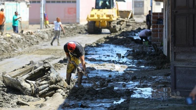 Peru po powodzi