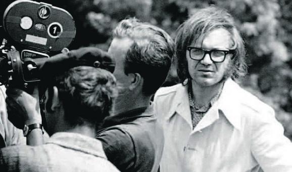 Jovan Jovanović na snimanju filma