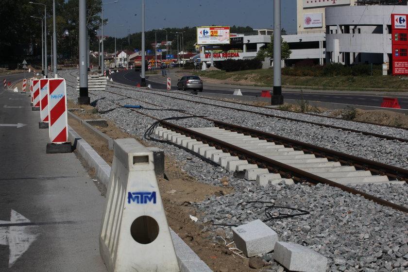 linia tramwajowa na Morenę