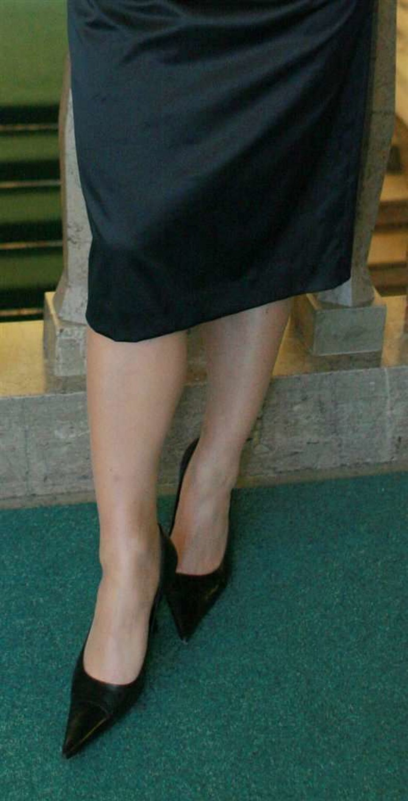 Seksowne nogi posłanek