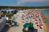 plaža zrće pag hrvatsko primorje