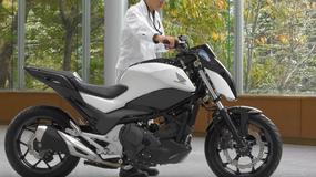 Autonomiczny motocykl Hondy