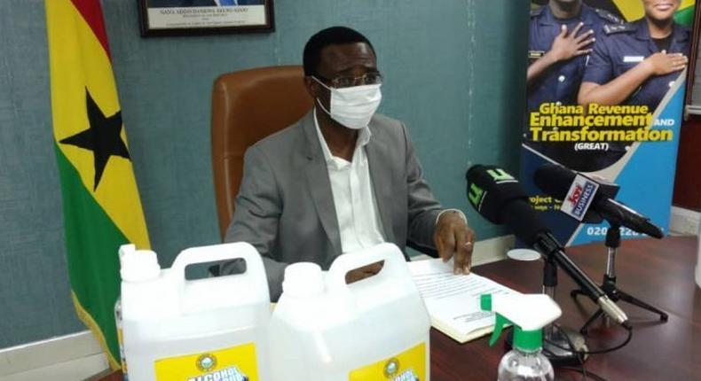 Acting Commissioner of GRA, Ammishaddai Owusu-Amoah