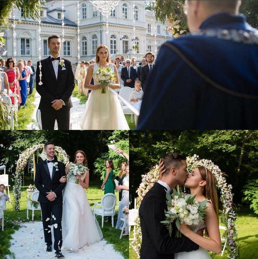 Ślub Dominiki Gawędy i Macieja Szczepanika