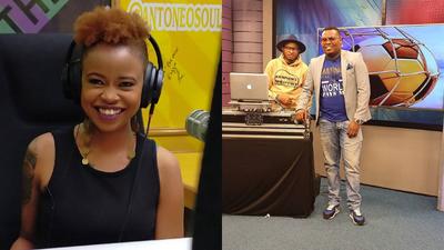 Nation FM's Tina Kaggia joins NTV's Udaku Sasa team led by Sameer Bry