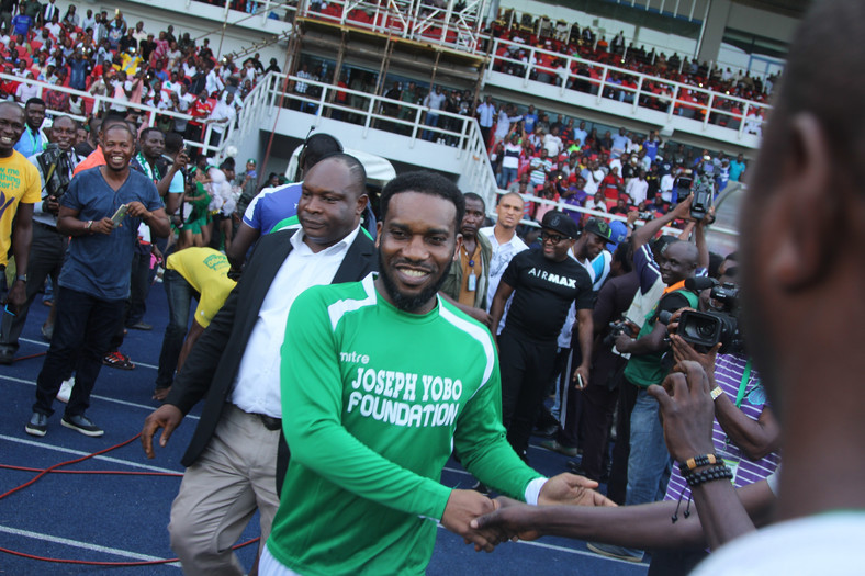 Jay Jay Okocha made 63 appearances for the Super Eagles of Nigeria
