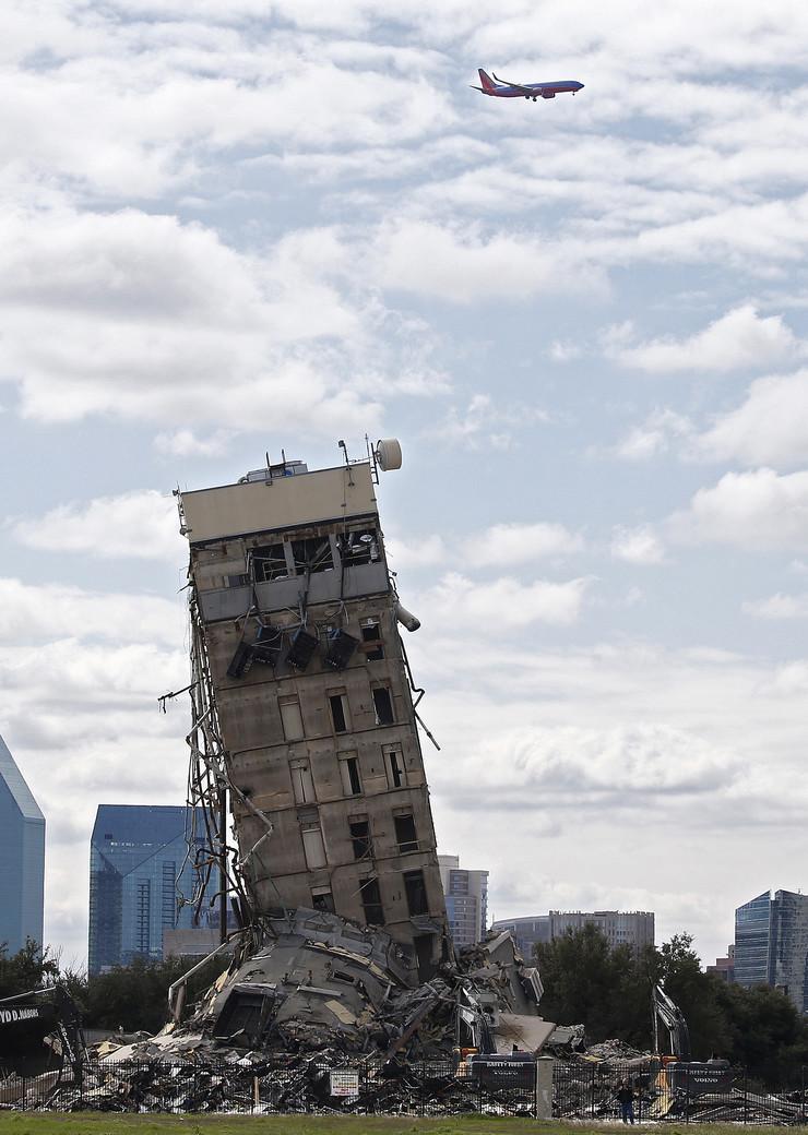 Toranj je stajao dve nedelje u mestu