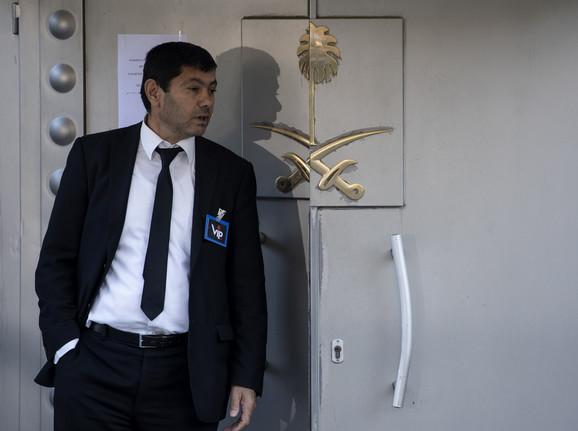 Mesto zločina - saudijski konzulat u Istanbulu