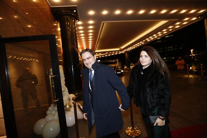 Nebojša Stefanović sa suprugom