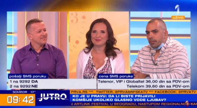 Gordana Nikić i Nenad Ristić  u razgovoru sa Srđanom Predojevićem o objavi o kojoj priča region