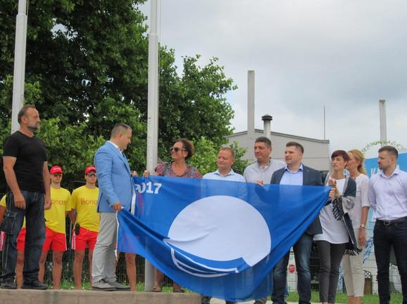 Svečano podignuta Plava zastava