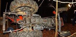 Tragedia w lesie. Maszyna zmiażdżyła traktorzystę